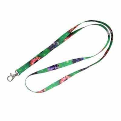 Lanyard tour de cou satiné impression transfert 10mm